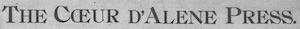 The Coeur d'Alene Press Logosu