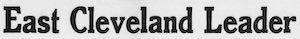 East Cleveland Leader Logosu