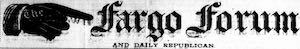 The Fargo forum and daily republican Logosu