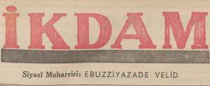 İkdam (Sabah Postası) Logosu