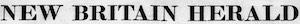 New Britain Herald Logosu