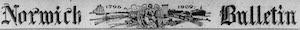 Norwich Bulletin Logosu