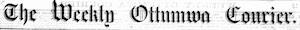 The Weekly Ottumwa Courier Logosu