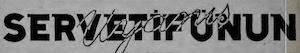 Servetifunun (Uyanış) Logosu