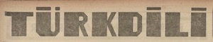 Türk Dili Logosu