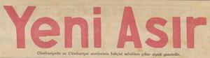 Yeni Asır Logosu