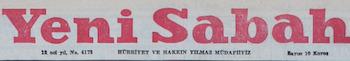 Yeni Sabah Logosu