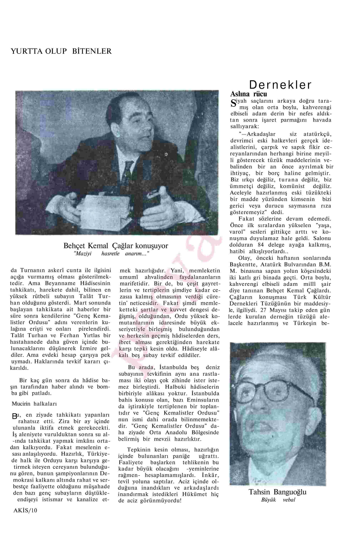 27 Nisan 1963 Tarihli Akis Dergisi Sayfa 10