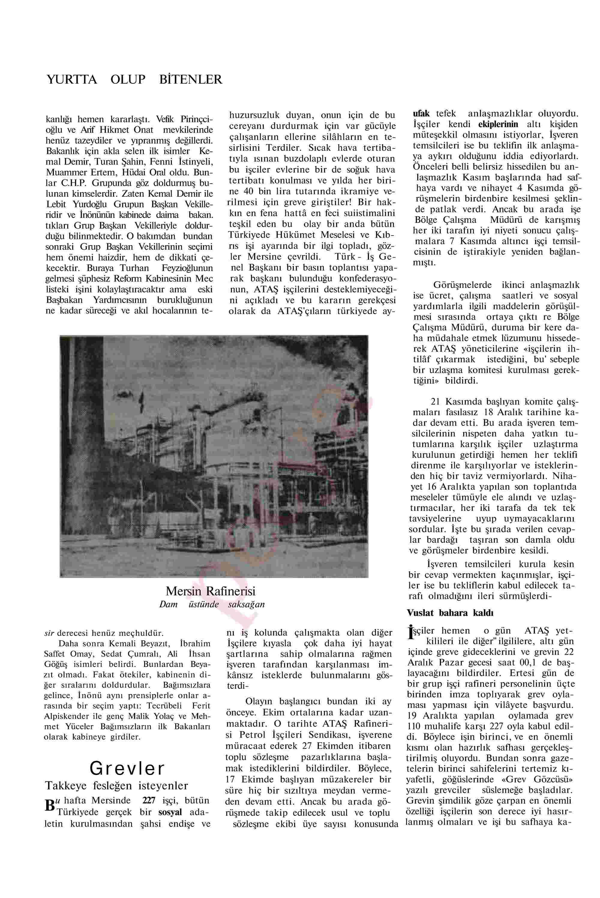 28 Aralık 1963 Tarihli Akis Dergisi Sayfa 14