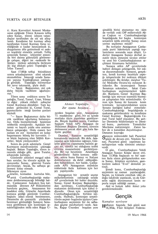 19 Mart 1966 Tarihli Akis Dergisi Sayfa 14