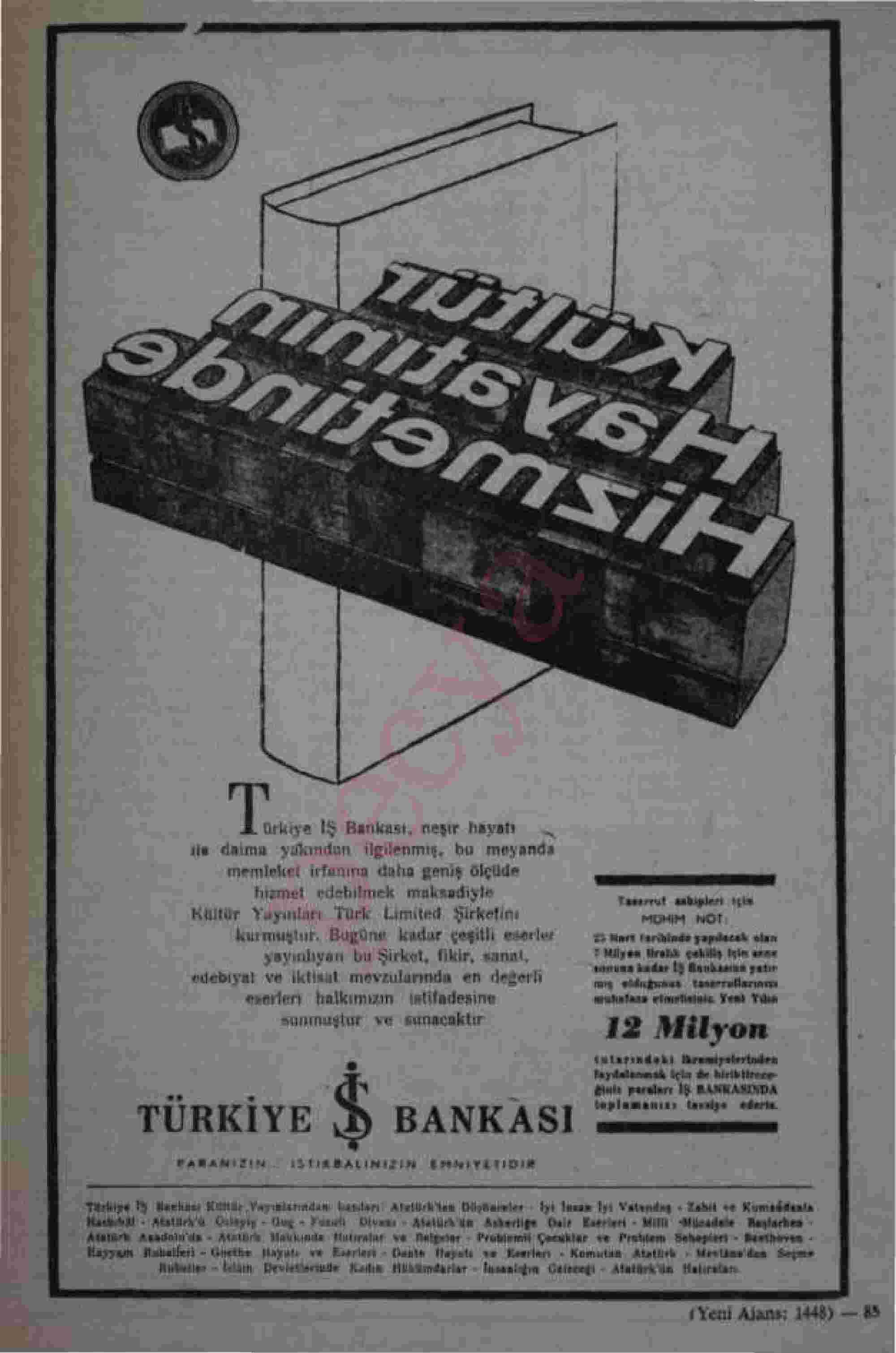 26 Mart 1966 tarihli Akis Dergisi Sayfa 14