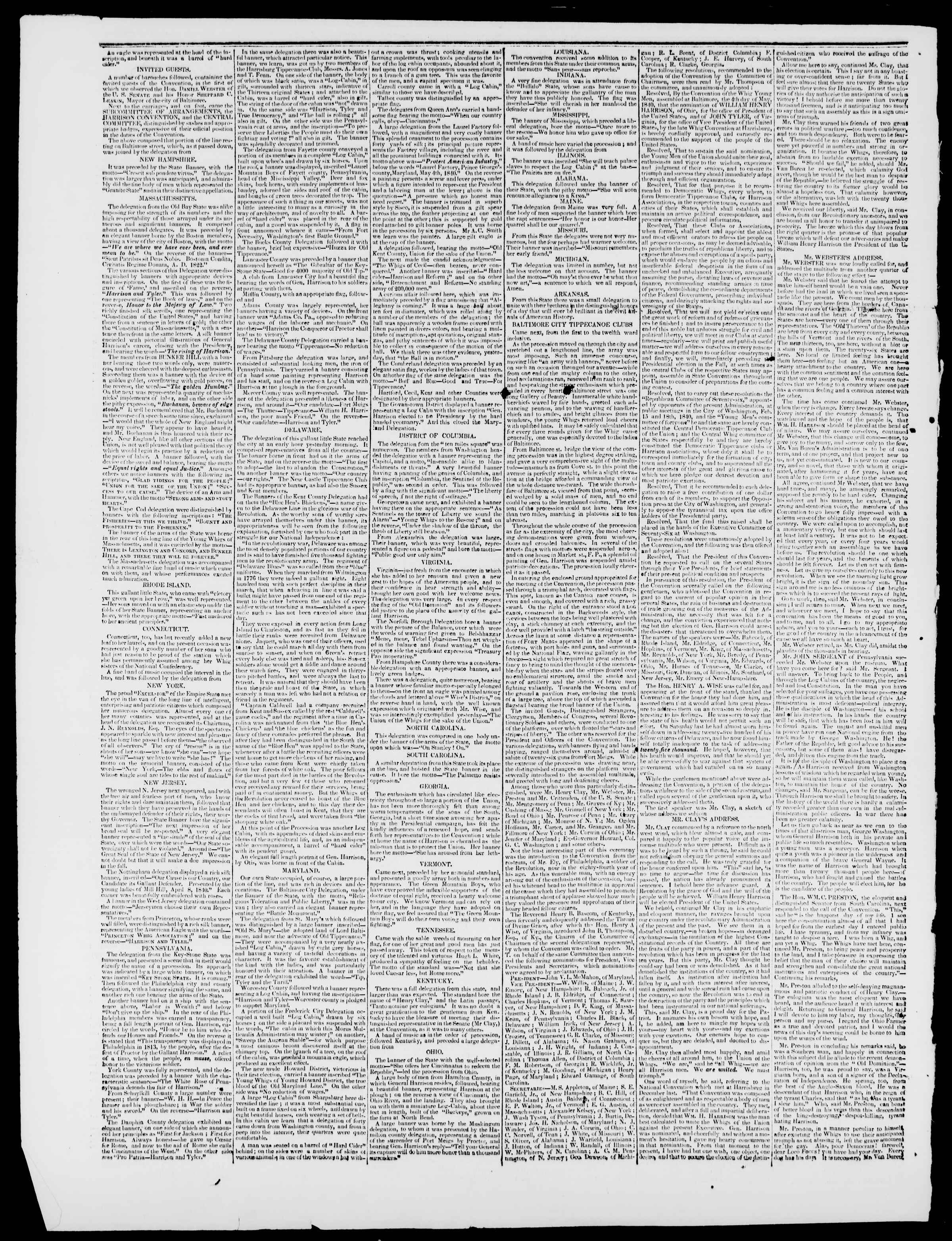 Newspaper of Burlington Free Press dated May 15, 1840 Page 2
