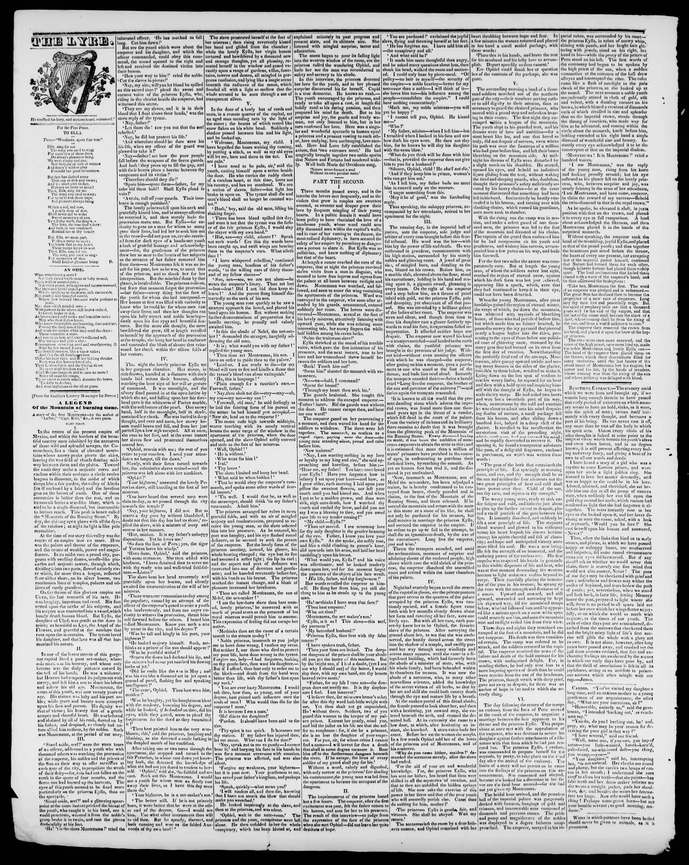 17 Temmuz 1840 tarihli Burlington Free Press Gazetesi Sayfa 3