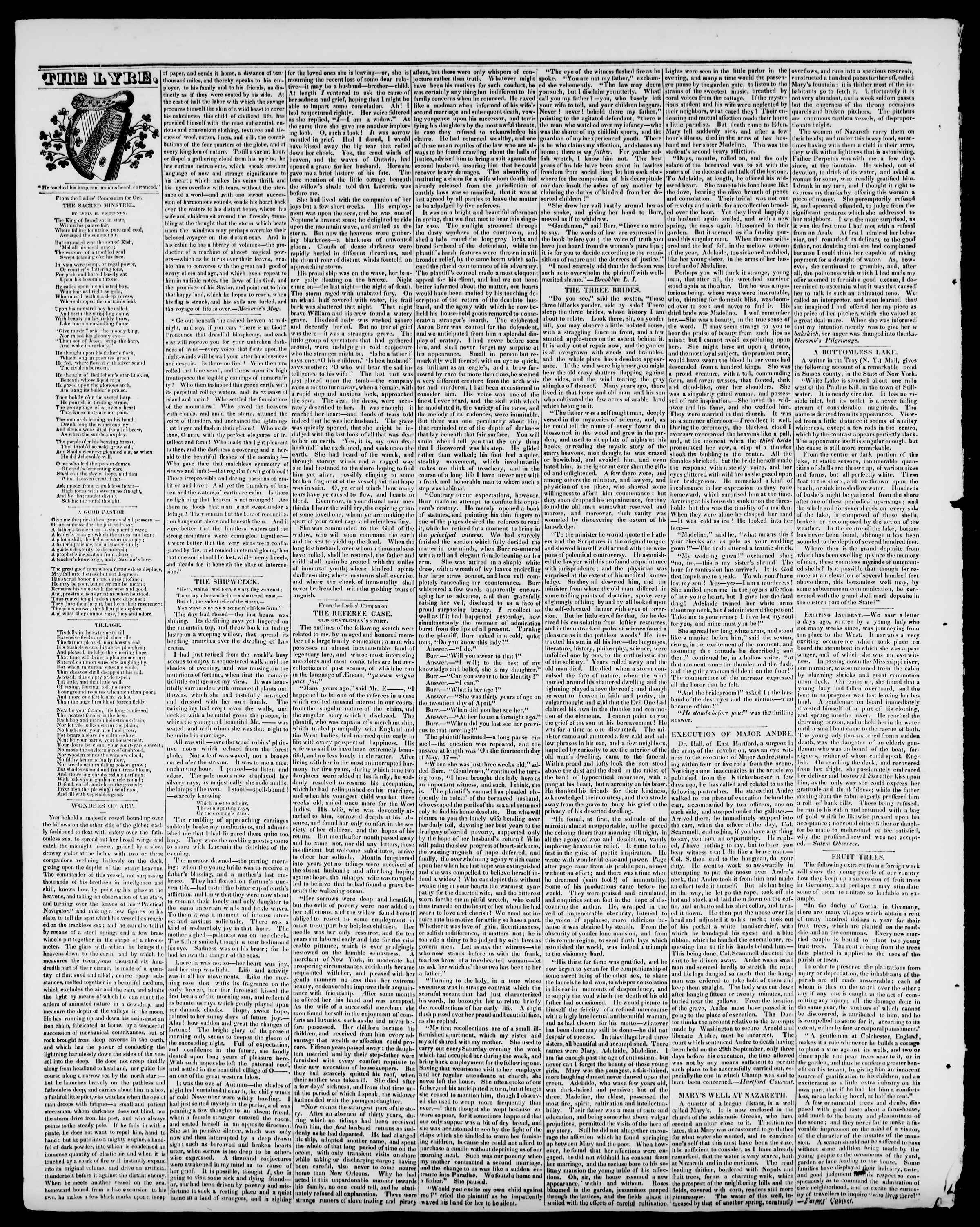 Newspaper of Burlington Free Press dated October 16, 1840 Page 4