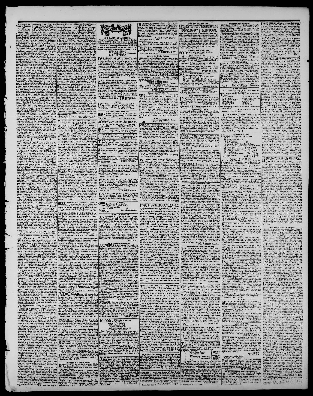 Newspaper of Burlington Free Press dated December 11, 1840 Page 3