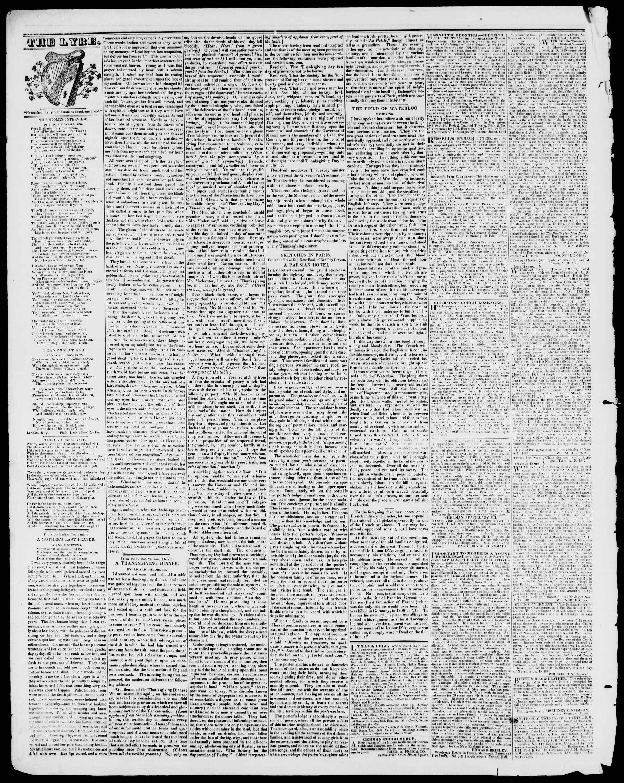 Newspaper of Burlington Free Press dated January 8, 1841 Page 4