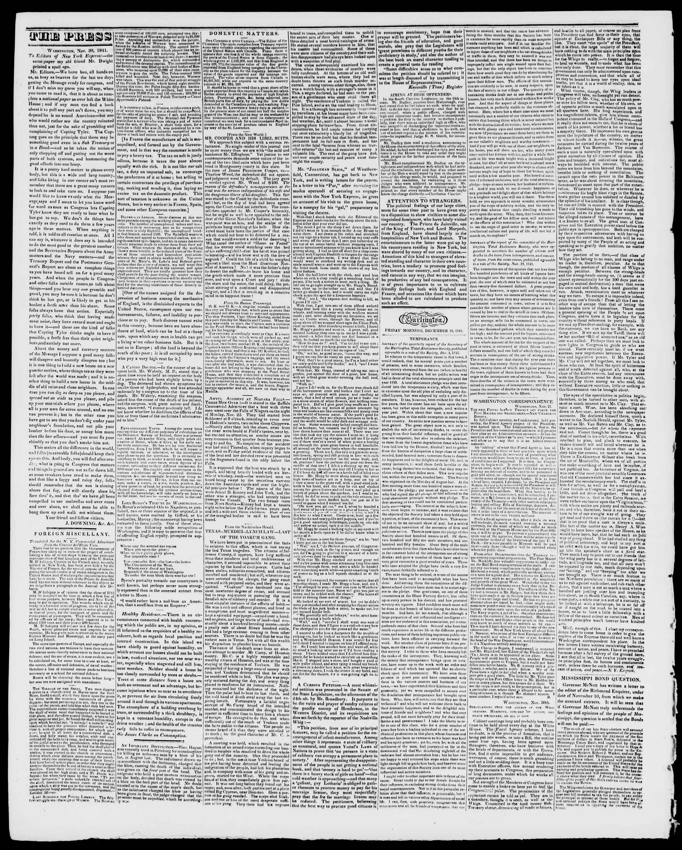 Newspaper of Burlington Free Press dated December 10, 1841 Page 2
