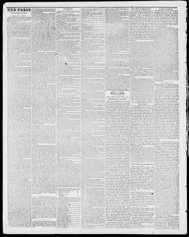 Newspaper of Burlington Free Press dated December 24, 1841 Page 2