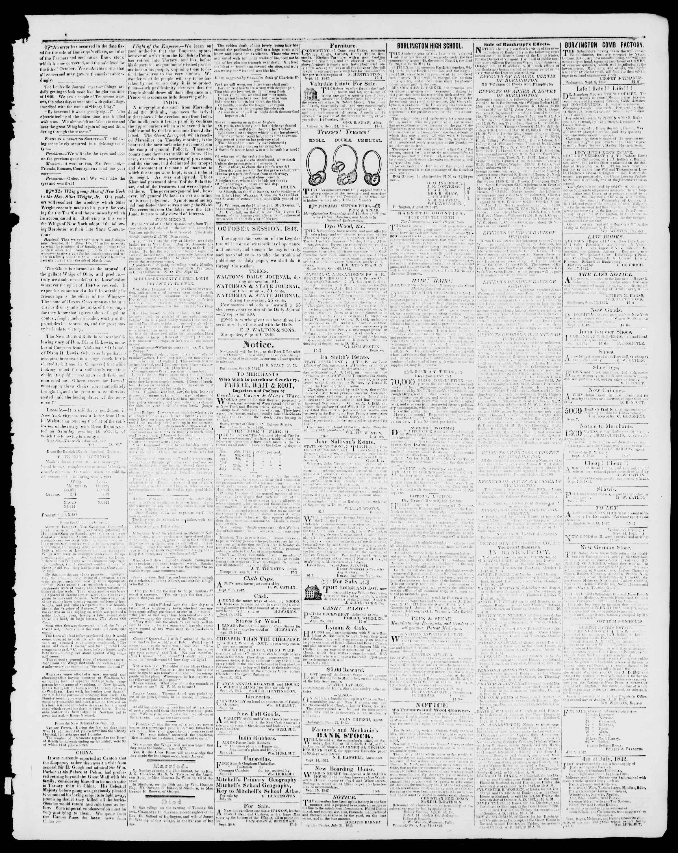 Newspaper of Burlington Free Press dated September 30, 1842 Page 3