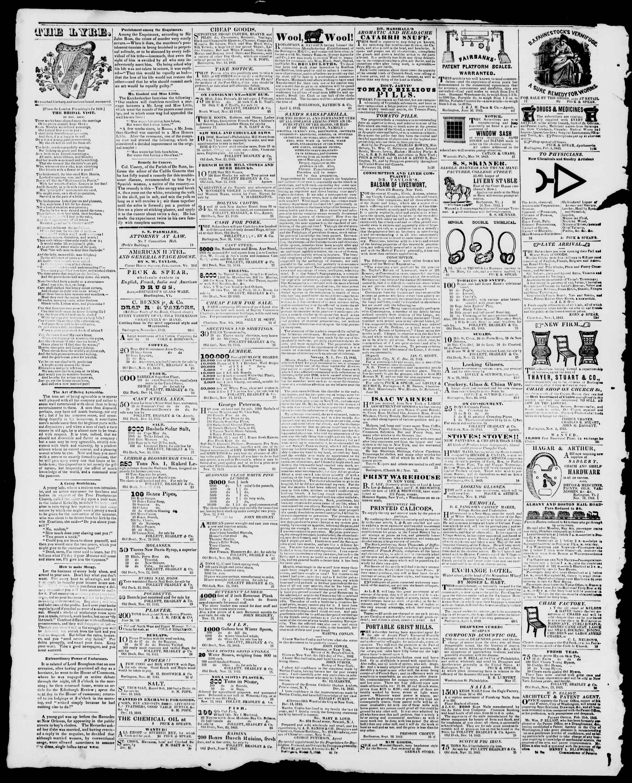 Newspaper of Burlington Free Press dated February 23, 1844 Page 4
