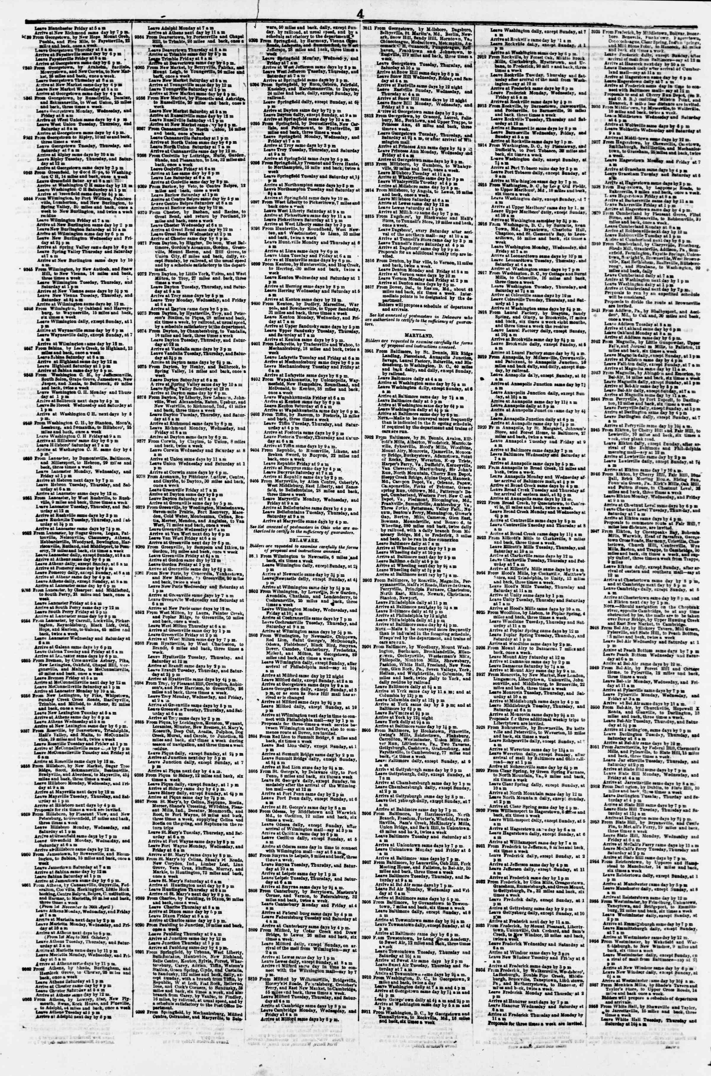 Newspaper of Evening Star dated February 9, 1856 Page 8
