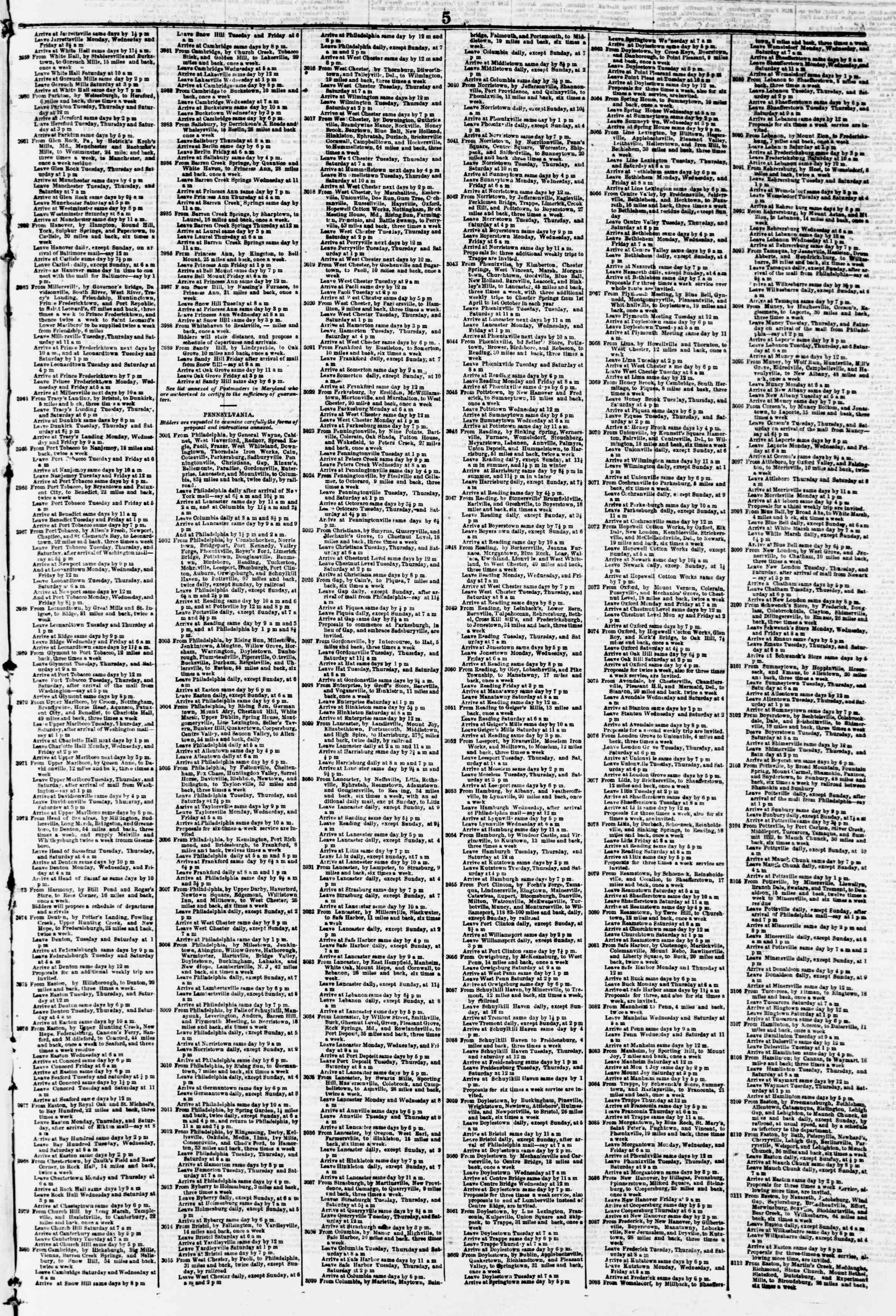 Newspaper of Evening Star dated February 9, 1856 Page 9