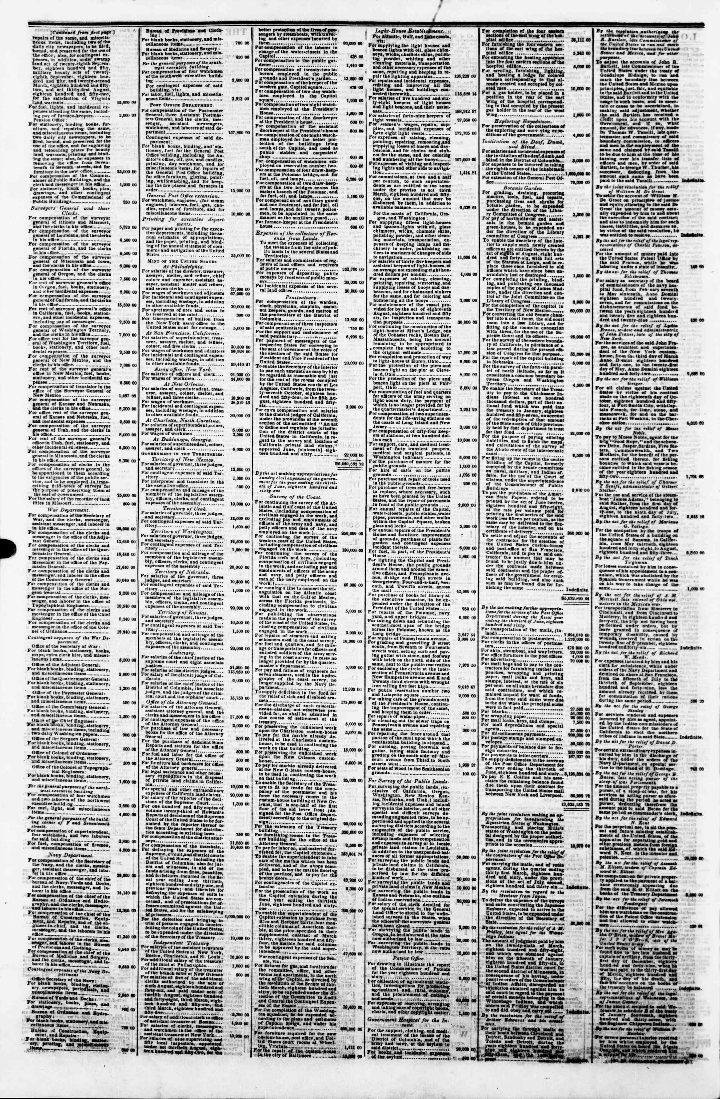 Newspaper of Evening Star dated August 17, 1860 Page 4