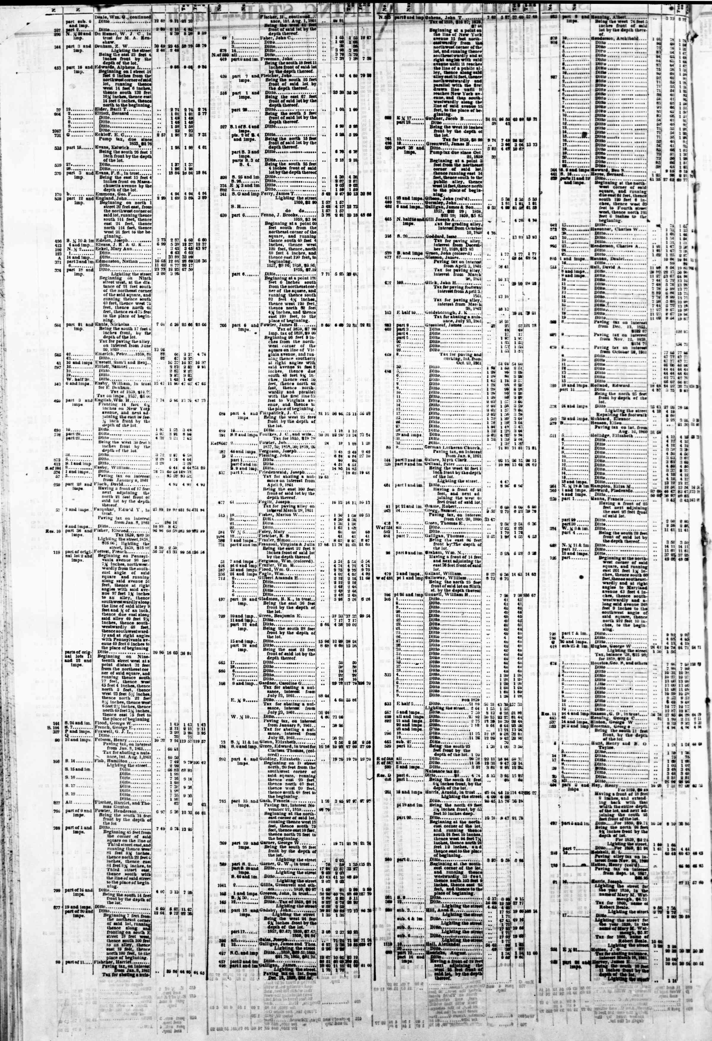 4 Mart 1862 tarihli Evening Star Gazetesi Sayfa 6
