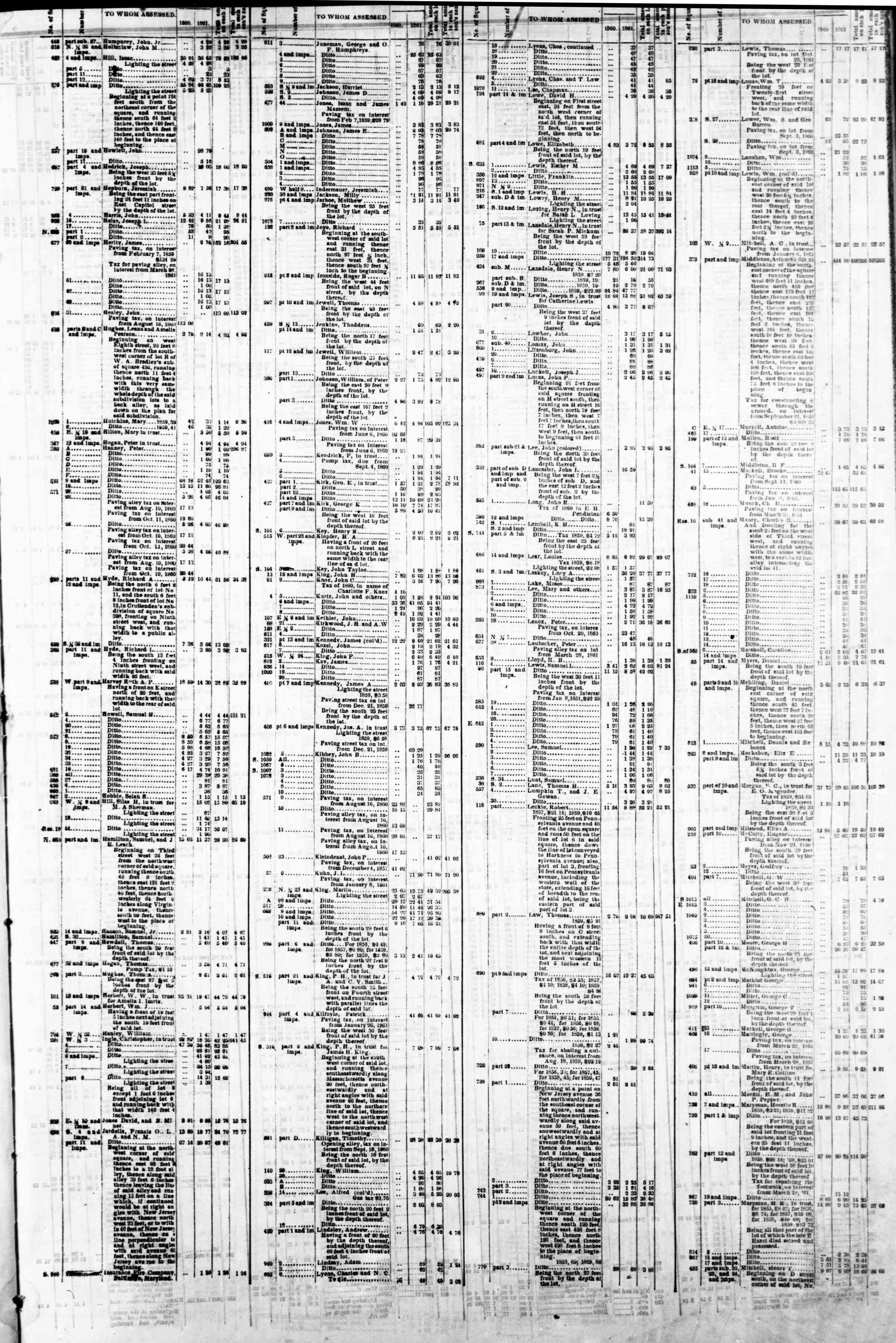 4 Mart 1862 tarihli Evening Star Gazetesi Sayfa 7