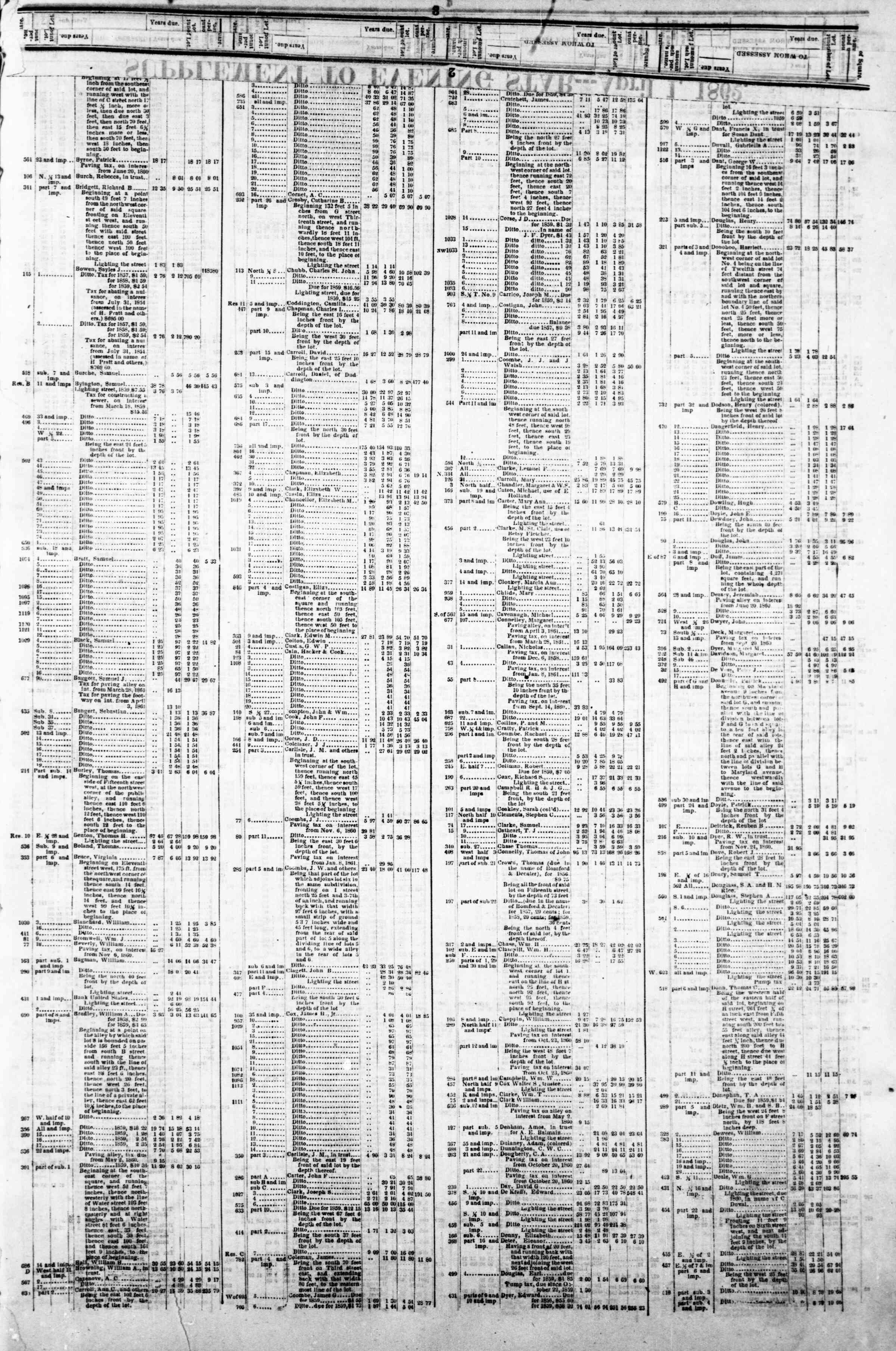 Newspaper of Evening Star dated April 1, 1862 Page 5