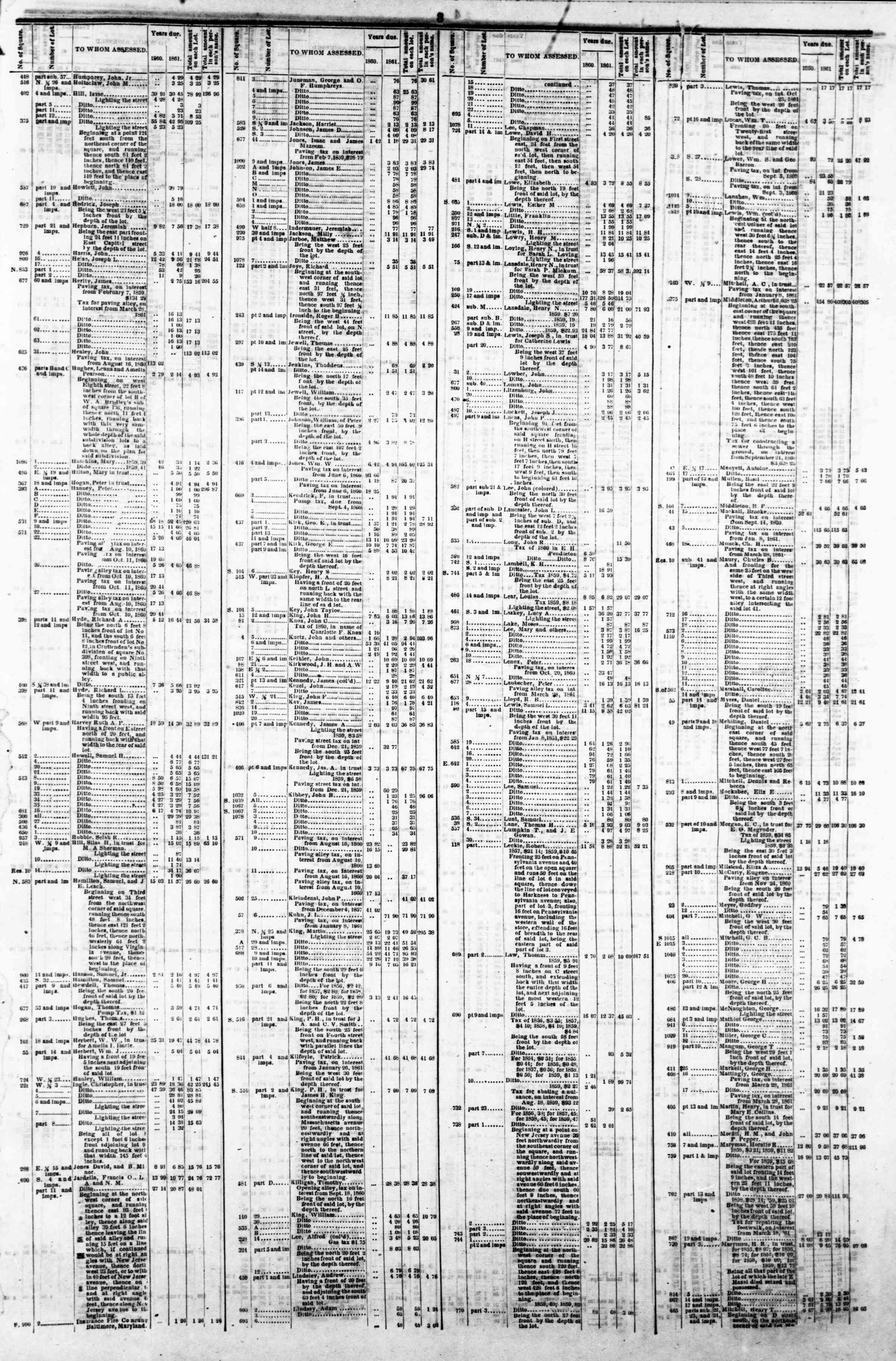 Newspaper of Evening Star dated April 8, 1862 Page 7