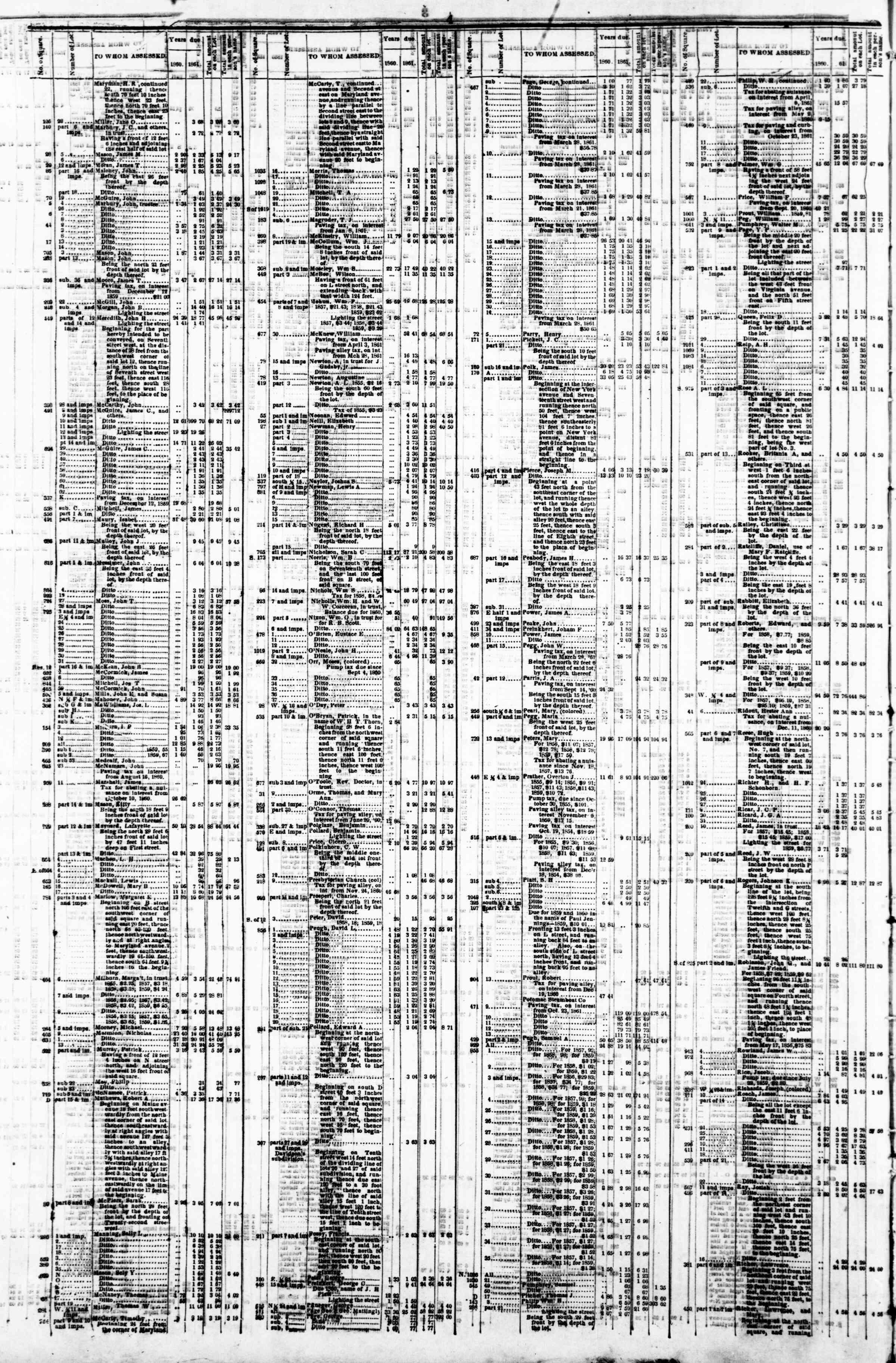 29 Nisan 1862 tarihli Evening Star Gazetesi Sayfa 8