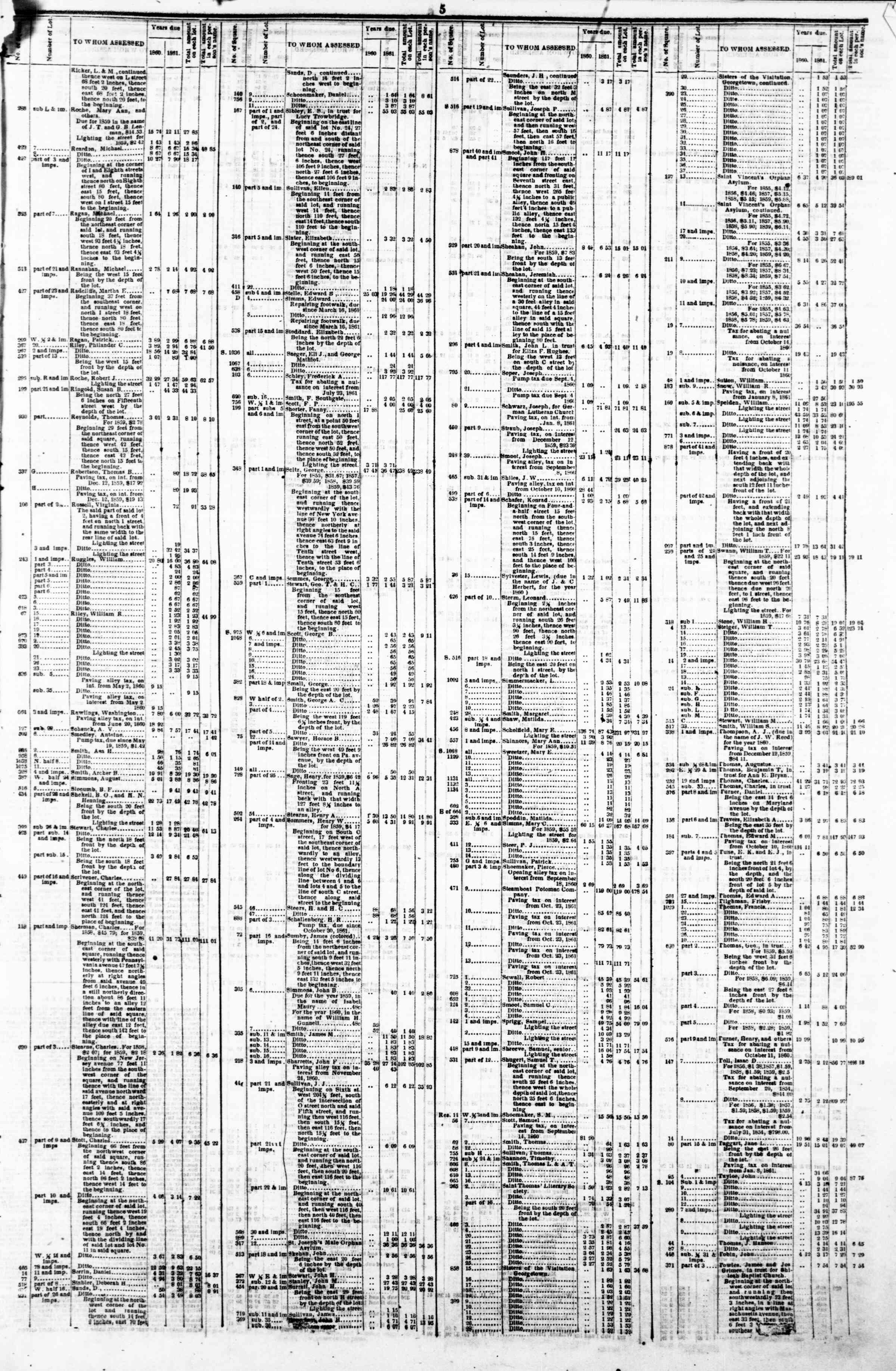 Newspaper of Evening Star dated May 6, 1862 Page 9
