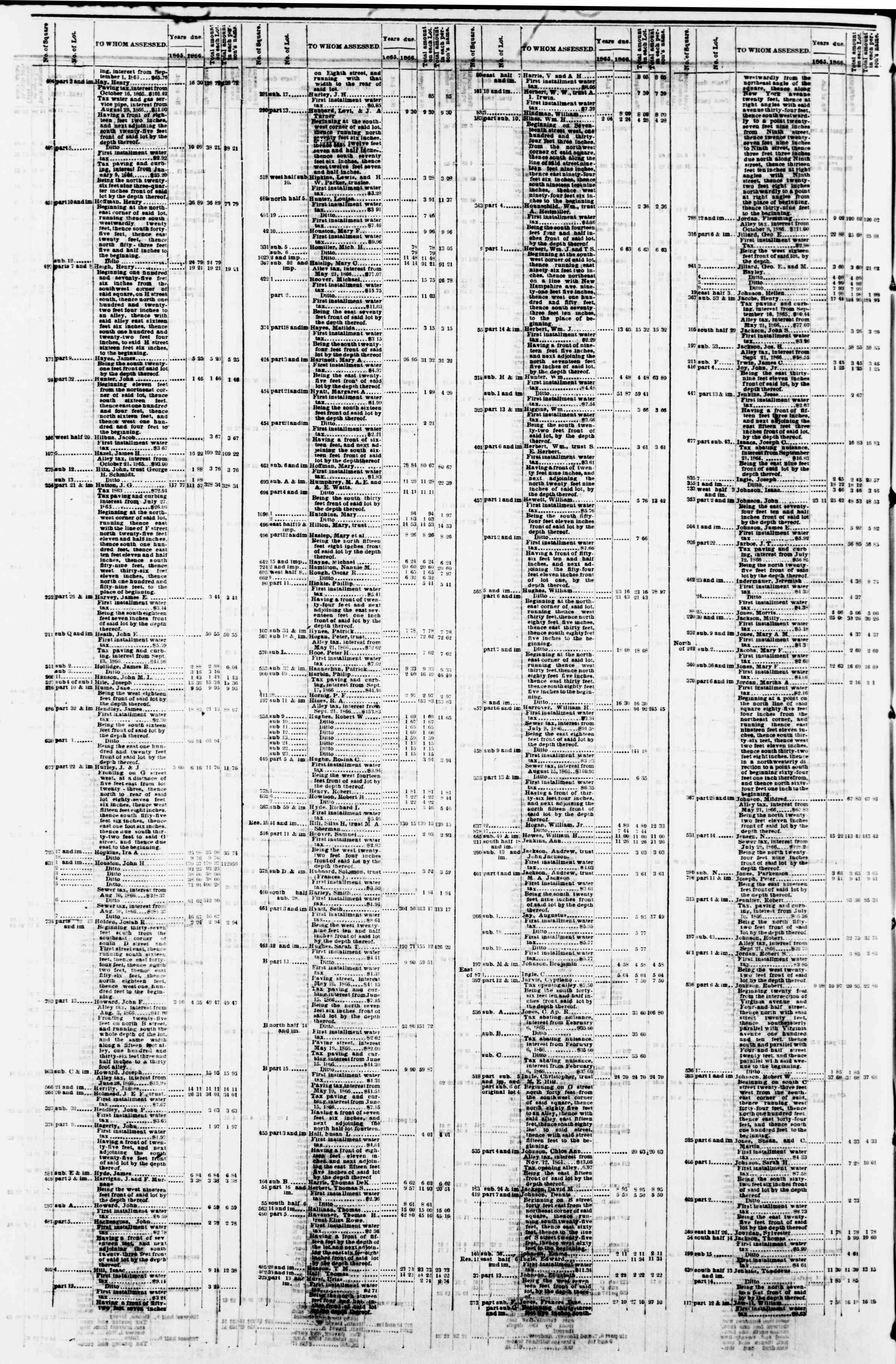 Newspaper of Evening Star dated April 2, 1867 Page 12