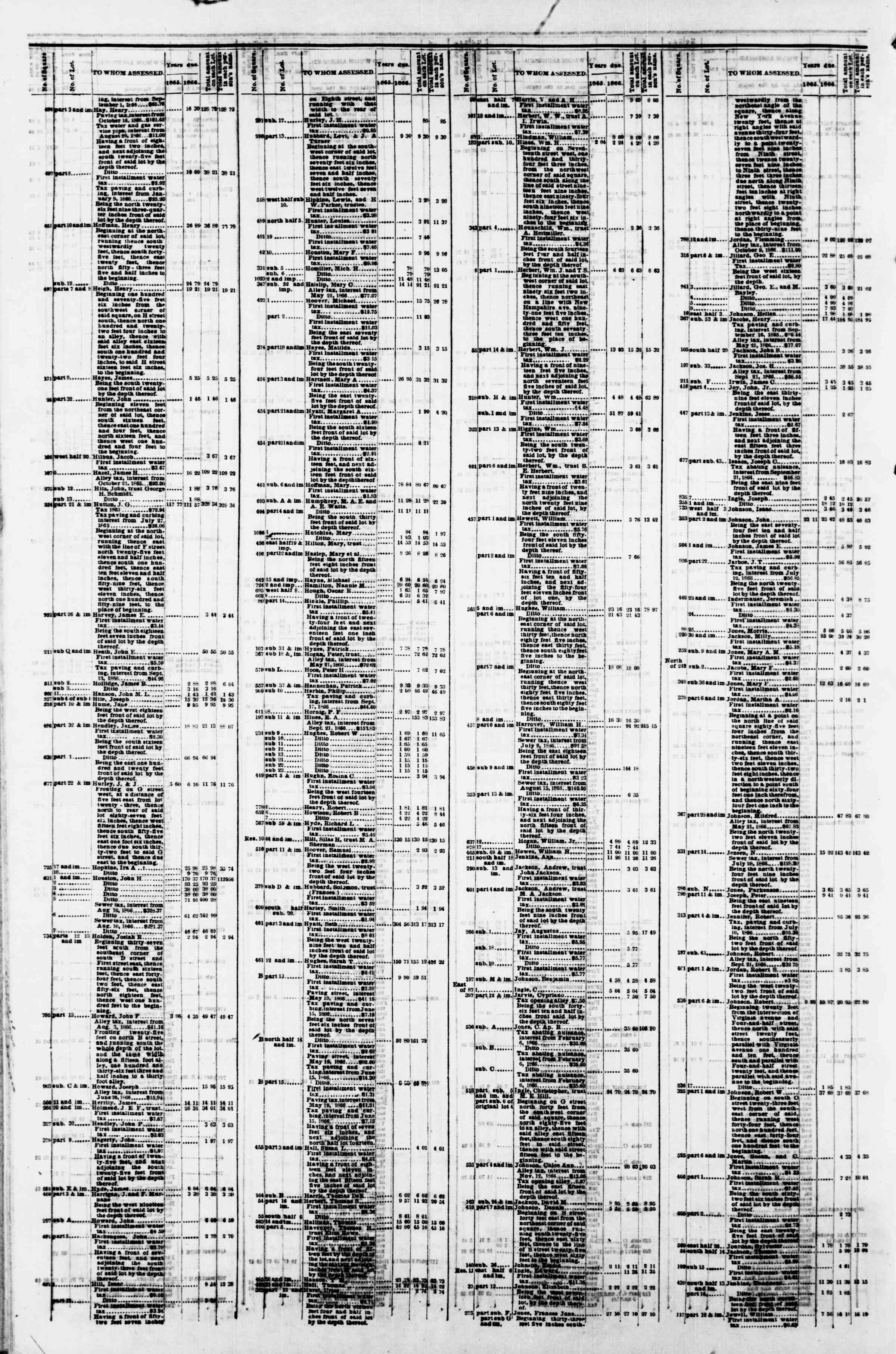 Newspaper of Evening Star dated April 9, 1867 Page 12