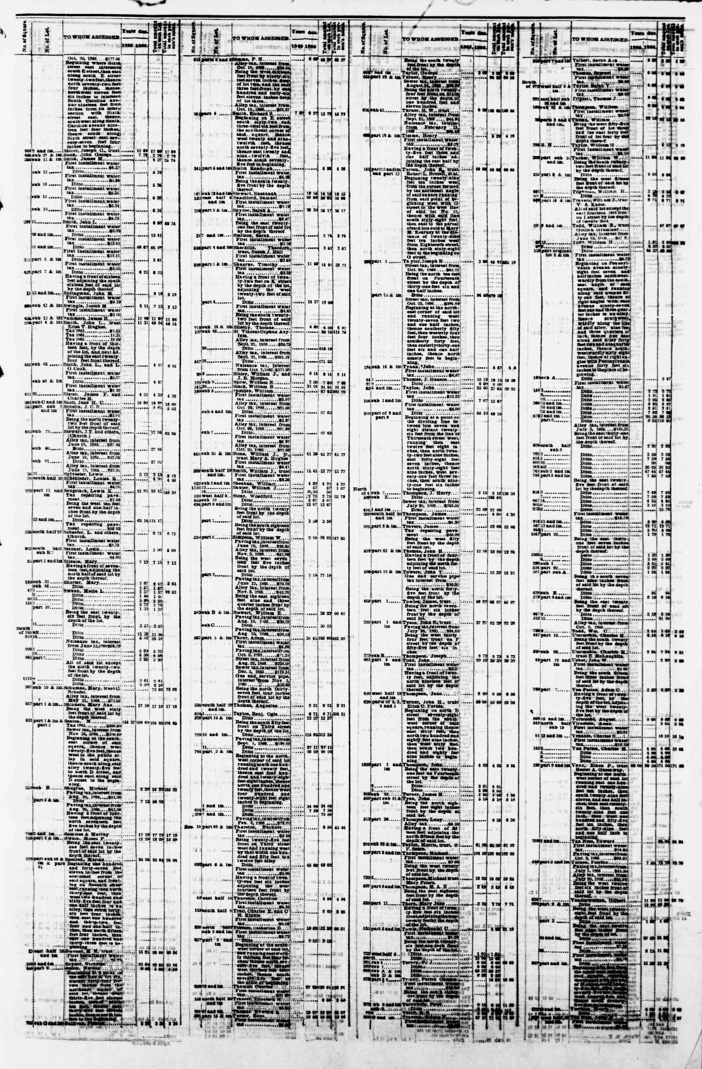 Newspaper of Evening Star dated April 9, 1867 Page 19