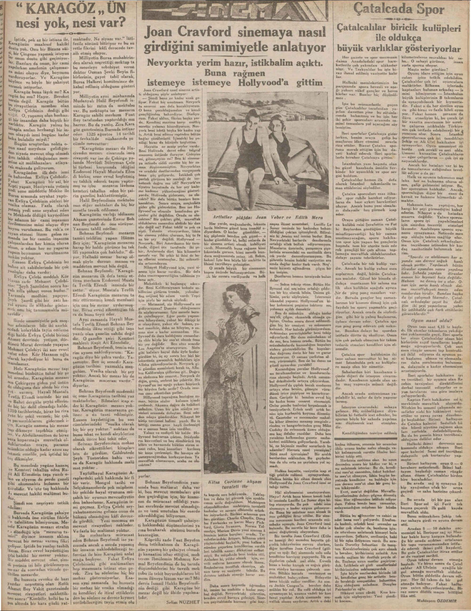 22 Ağustos 1932 Tarihli Milliyet Dergisi Sayfa 5