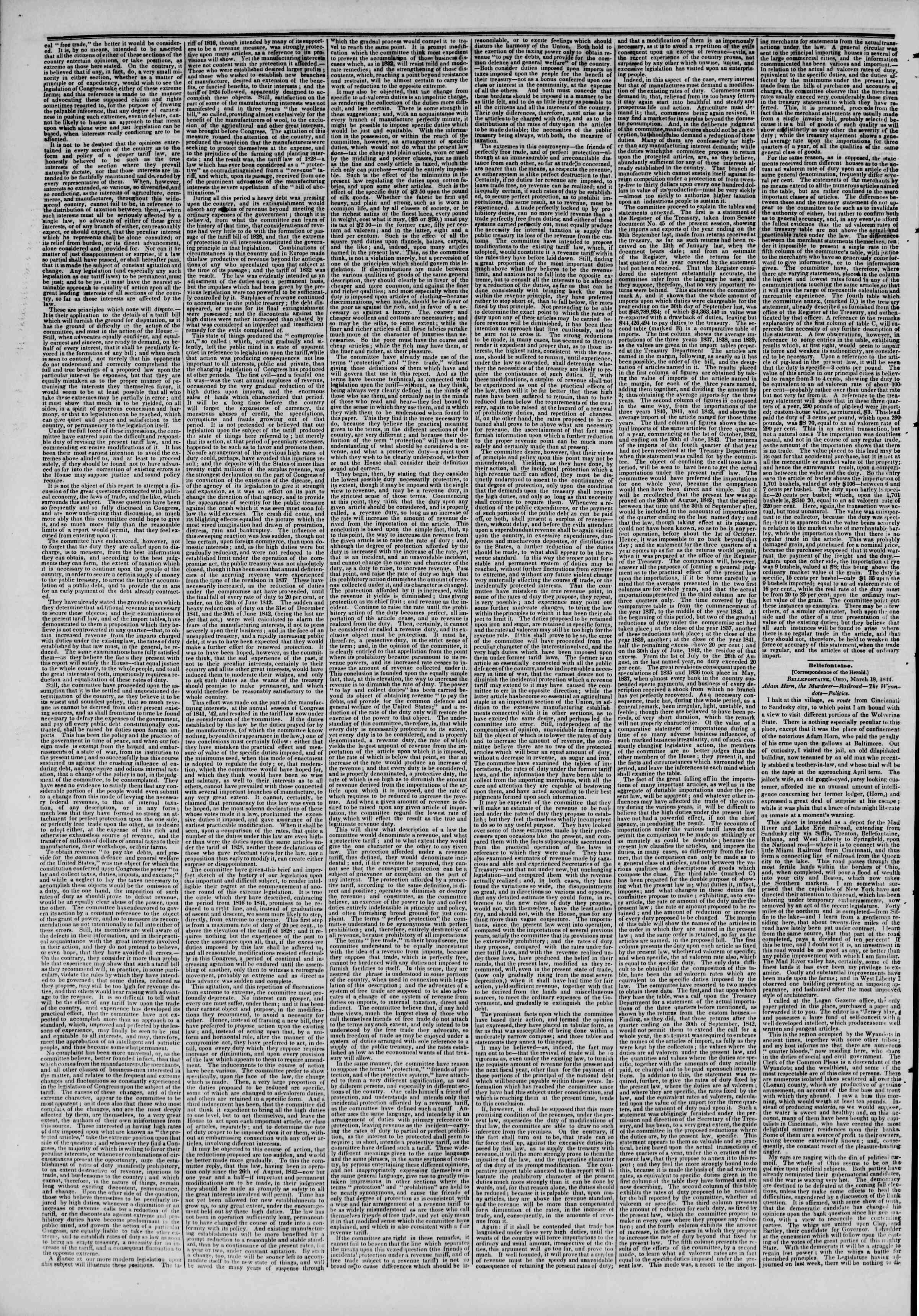 March 27, 1844 Tarihli The New York Herald Gazetesi Sayfa 2