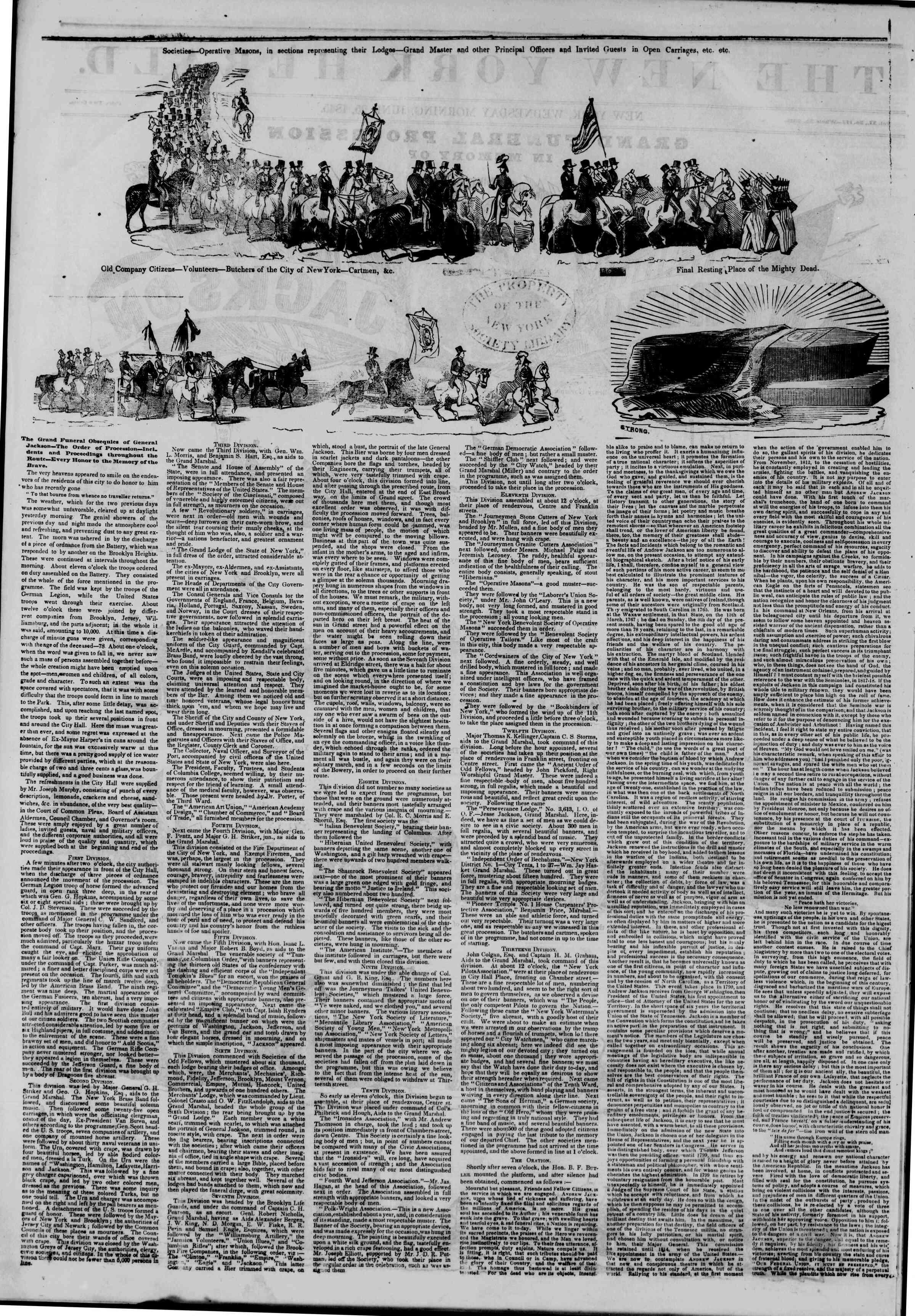 June 25, 1845 Tarihli The New York Herald Gazetesi Sayfa 2