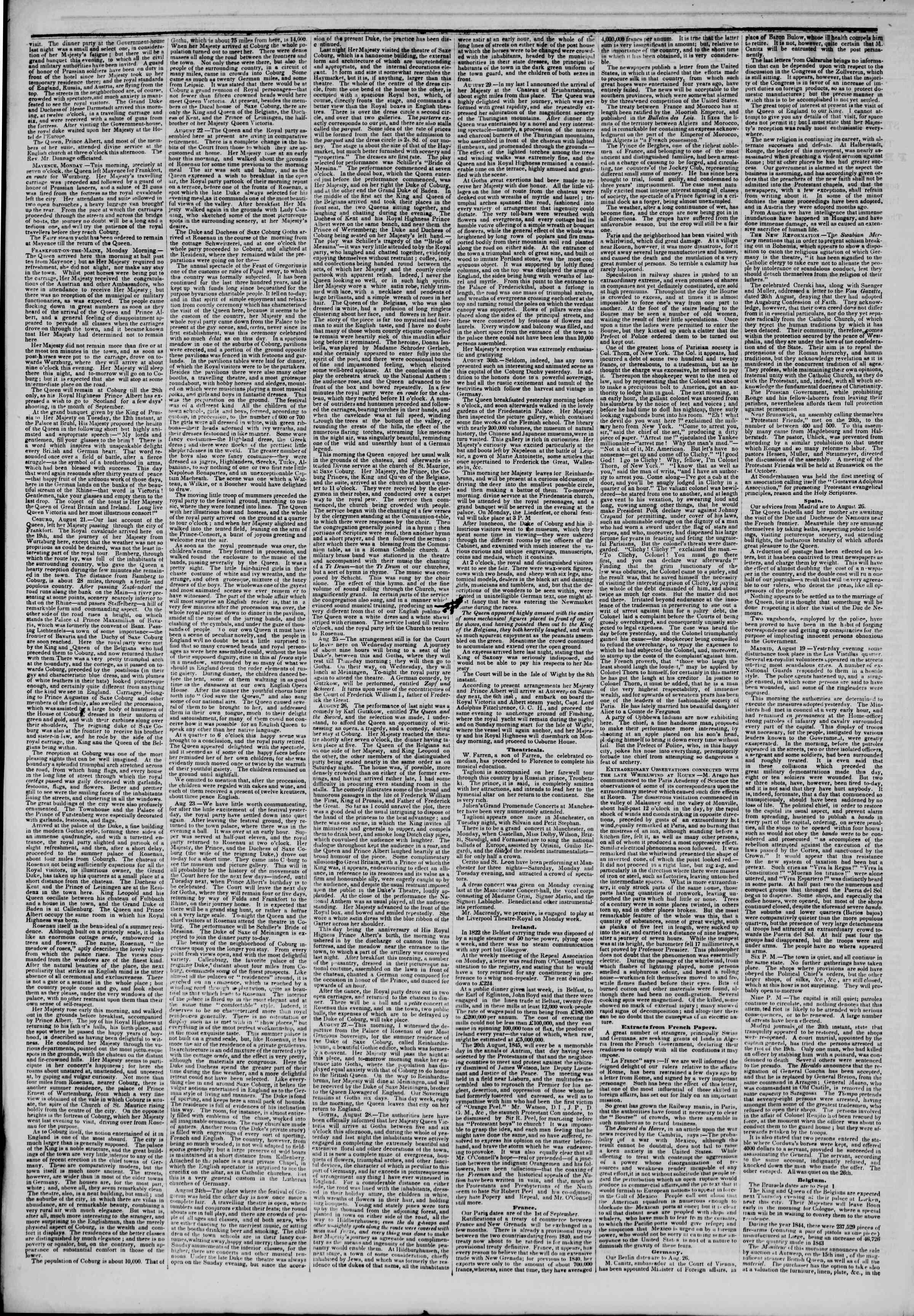 September 21, 1845 Tarihli The New York Herald Gazetesi Sayfa 2