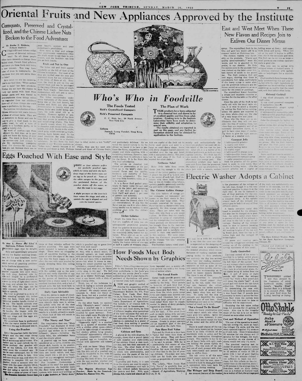 26 Mart 1922 tarihli New York Tribune Gazetesi Sayfa 65