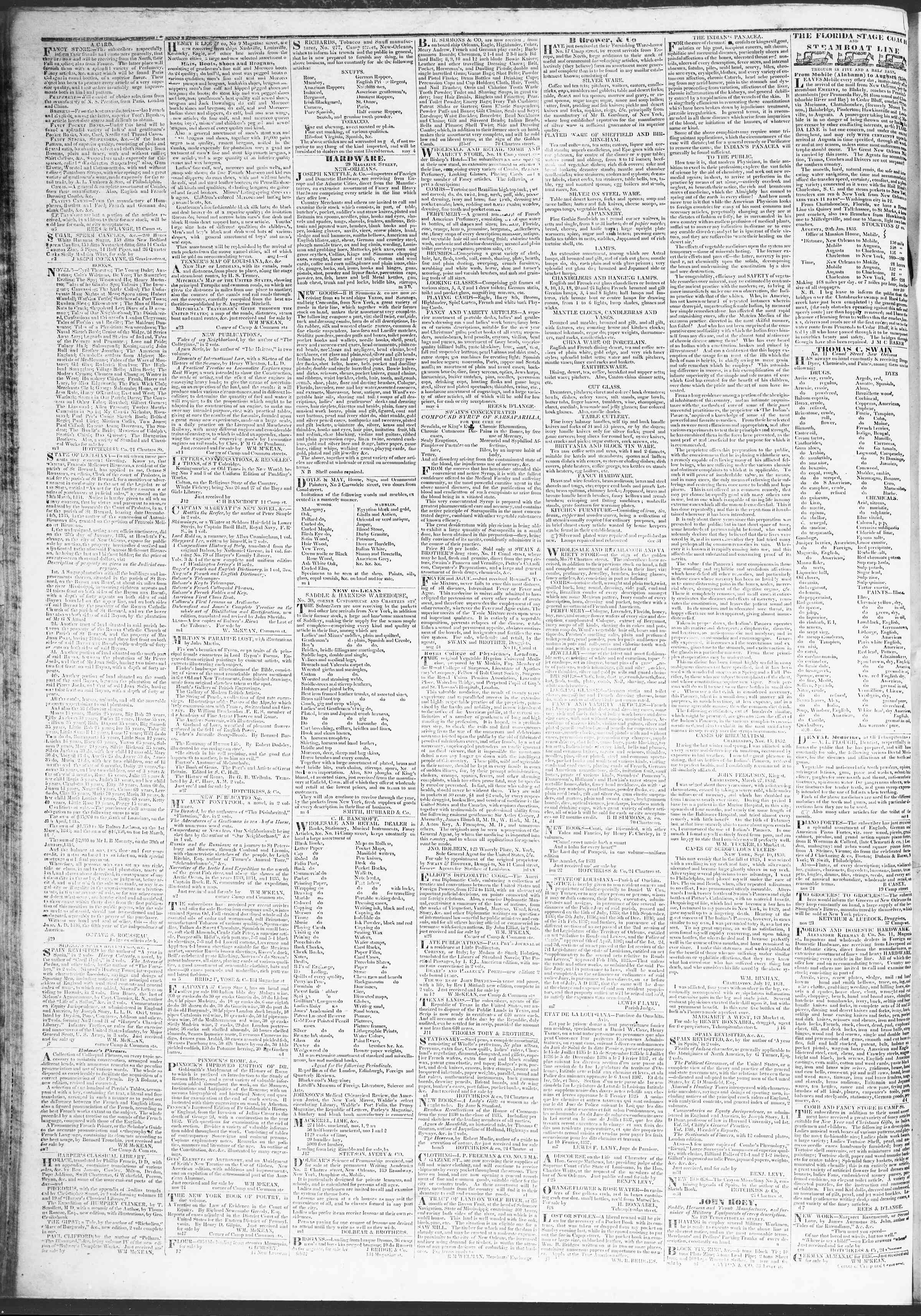 Newspaper of True American dated March 31, 1837 Page 4