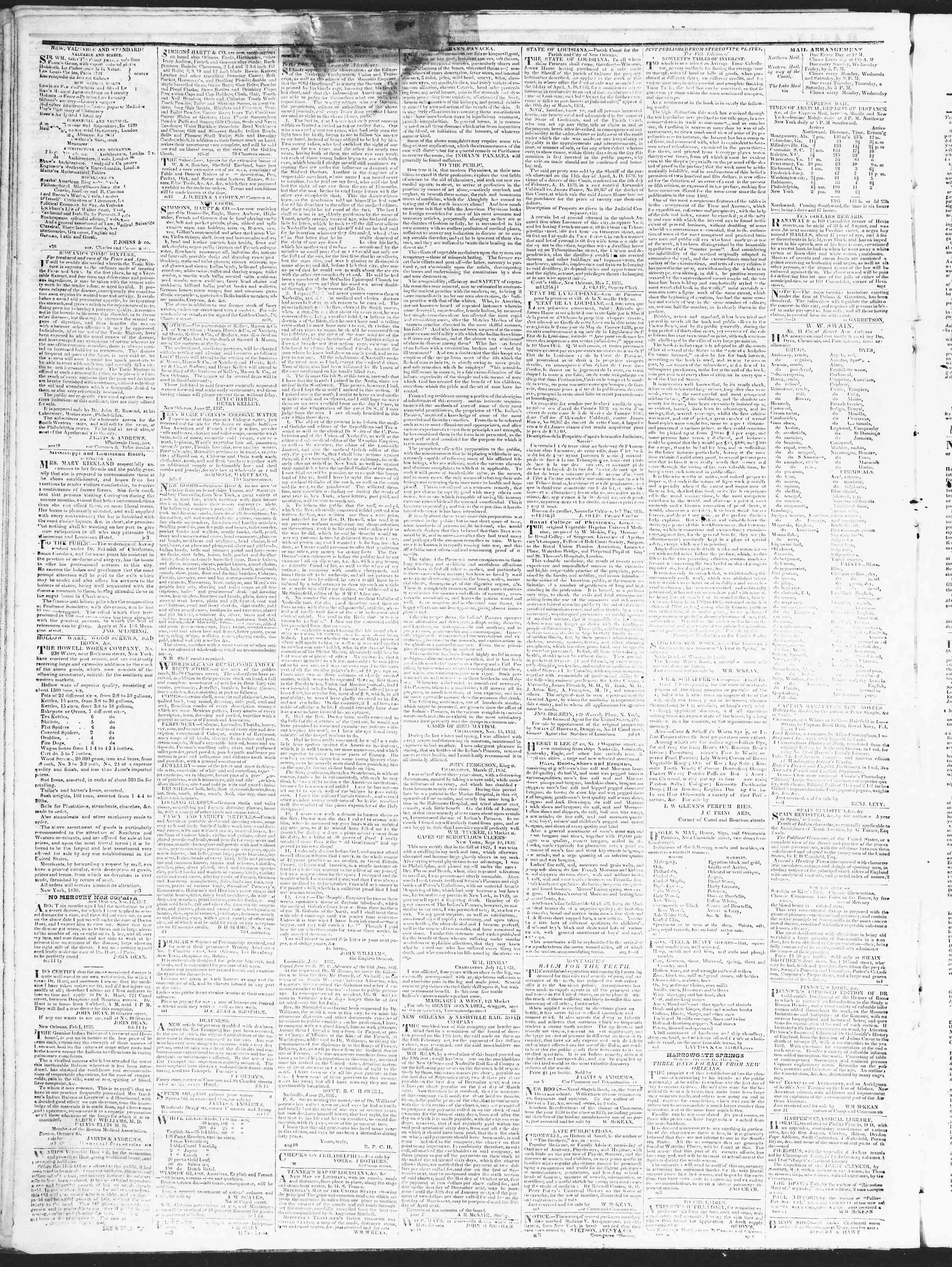 Newspaper of True American dated December 21, 1838 Page 4