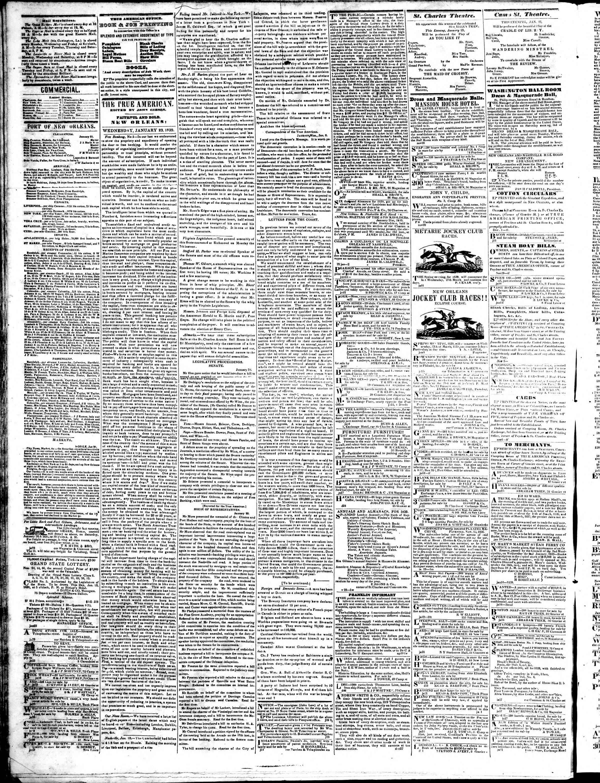 23 Ocak 1839 tarihli True American Gazetesi Sayfa 2