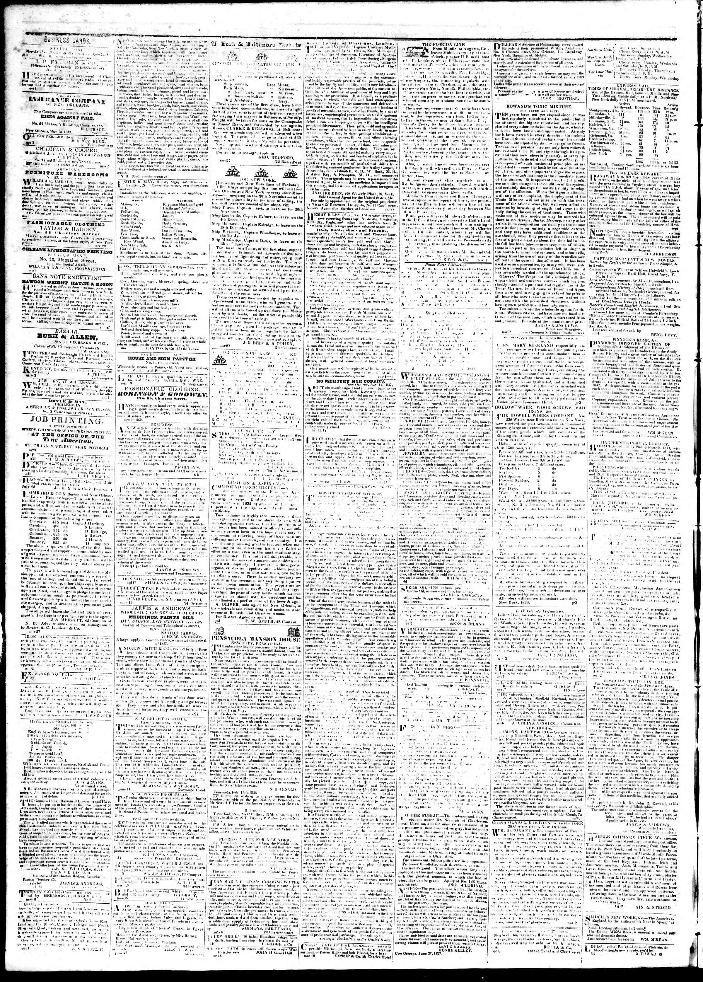Newspaper of True American dated September 12, 1839 Page 4