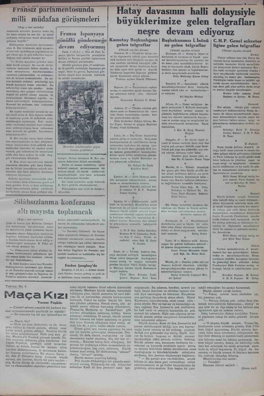 3 Şubat 1937 Tarihli Ulus Dergisi Sayfa 5