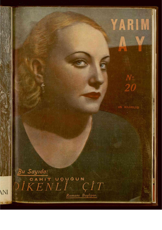 1 Aralık 1935 tarihli Yarım Ay Dergisi Sayfa 1