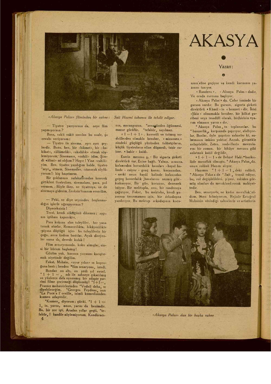 15 Eylül 1940 Tarihli Yarım Ay Dergisi Sayfa 4