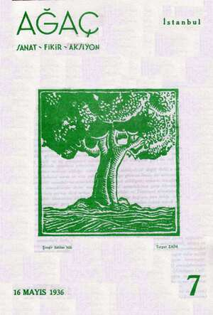 Ağaç Dergisi 16 Mayıs 1936 kapağı