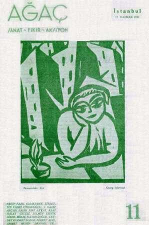 Ağaç Dergisi 13 Haziran 1936 kapağı